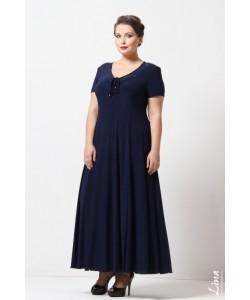 """Платье """"Ксения"""" цвет синий"""