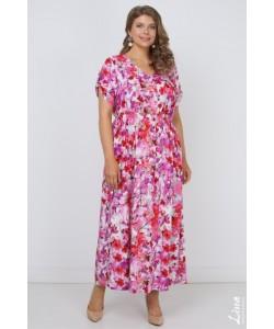 """Платье """"Мария"""" цвет сакура"""