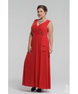 """Платье """"Миледи"""" цвет красный"""