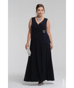 """Платье """"Миледи"""" цвет синий"""