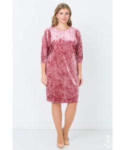 """Платье """"Мимоза"""" цвет пудровый"""