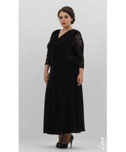 """Платье """"Монако"""" цвет черный"""