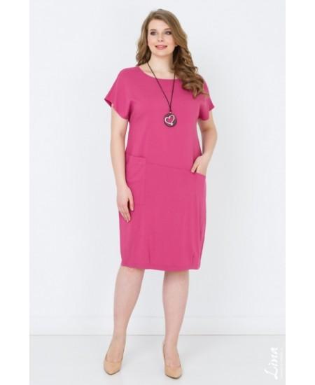 """Платье """"Ницца"""" цвет розовый"""