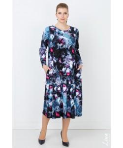 """Платье """"Пандора"""" цвет серый"""
