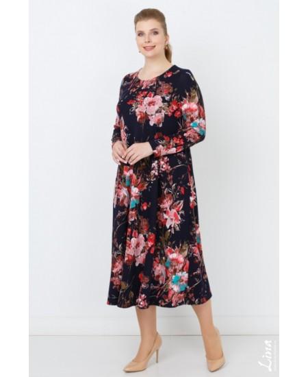 """Платье """"Пандора"""" цвет коралл"""