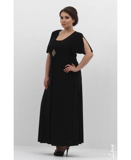 """Платье """"Ромб"""" цвет черный"""