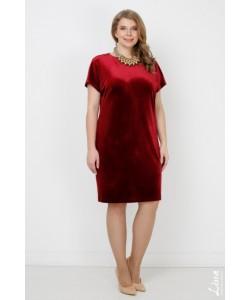 """Платье """"Шарлиз"""" цвет бордо"""