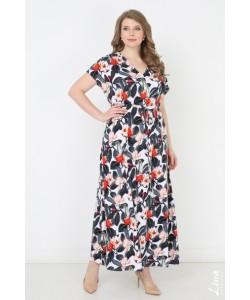 """Платье """"Сюзанна"""" цвет цветы"""