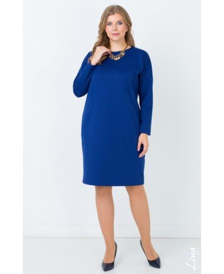 """Платье  """"Ванесса"""" цвет синий"""