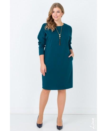 """Платье  """"Ванесса"""" цвет зеленый"""