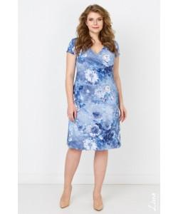 """Платье """"Весна"""" цвет голубой"""