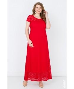 """Платье """"Виолетта-2"""" цвет красный"""