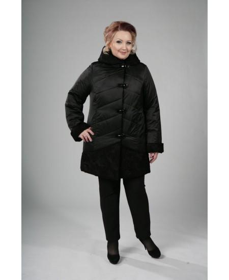 Куртка зимняя Александра черный