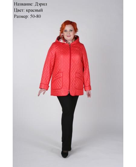 Куртка демисезонная Дэрил красный