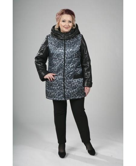Куртка зимняя Леонора черный