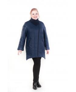 Демисезонная куртка Светлана темно синий