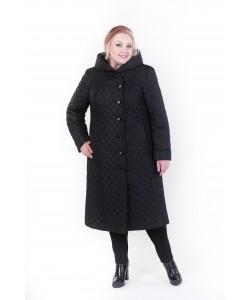 """Зимнее пальто """"Дарина"""" черный"""