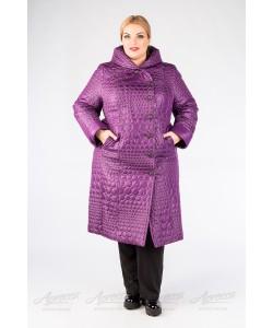 """Зимнее пальто """"Дарина"""" фиолетовый"""