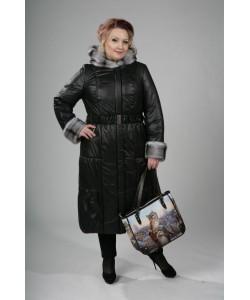 Пальто зимнее Гермиона черный