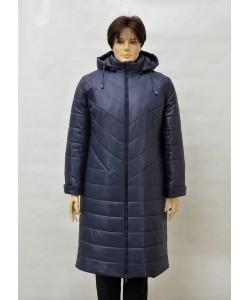 """Зимнее пальто """"Пеппер"""" темно синий"""