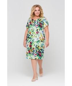 Платье 417003 цвет многоцветье